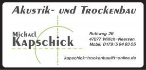 Akustik- & Trockenbau Michael Kapschick 11