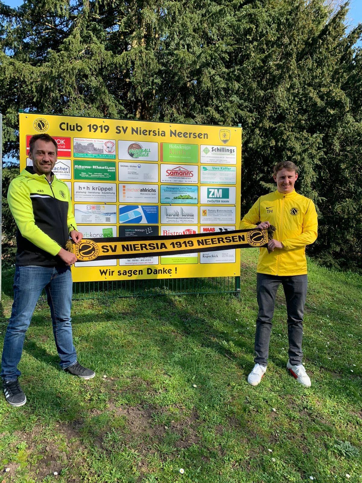 Sebastian Schinkels neuer Cheftrainer von Niersia Neersen
